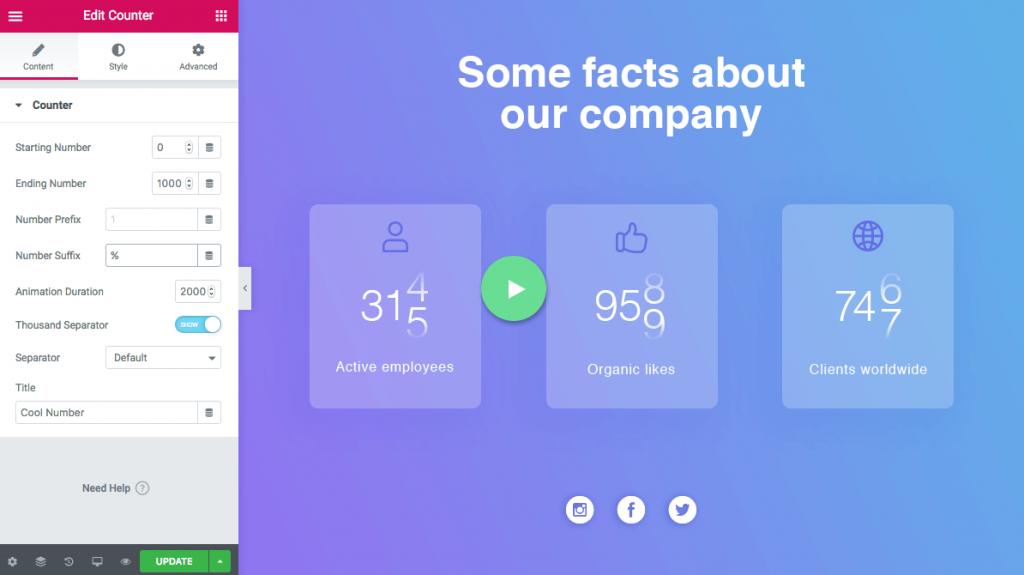 Counter Widget on Your Website